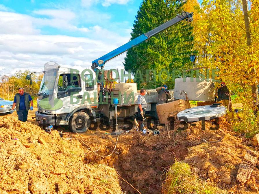 Подготовительные работы по ремонту сельского водопровода