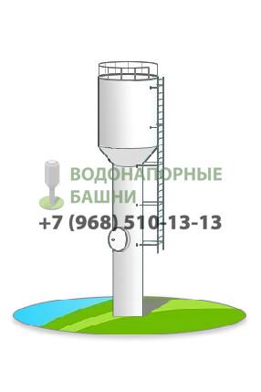 Рисунок водонапорной башни Рожновского